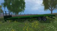 AWTrailer 42Ft Bale Trailer for farming simulator 15