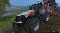 Case IH Magnum 340 by Giants, 25th year edition by KHD-Agro Star 2