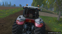 Case IH Magnum 340 by Giants, 25th year edition by KHD-Agro Star 5