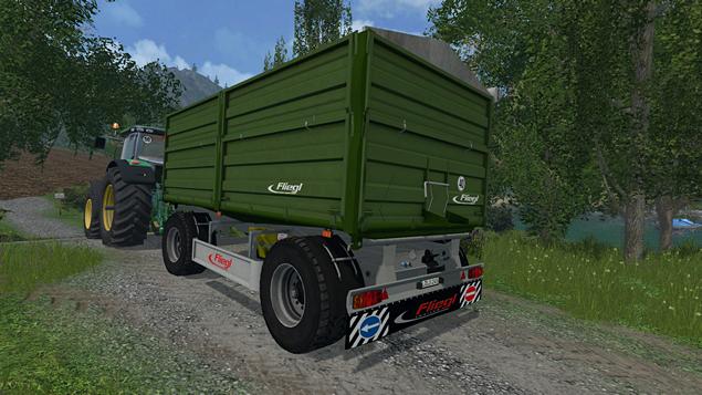 Fliegl DK 180-88 - Farming Simulator 2015, 2017 Mods | Fsmods com