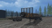 LogOn Logging Trailer for farming simlator 15