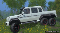 Mercedes Benz G 65 AMG 6x6 by Eraevgenij