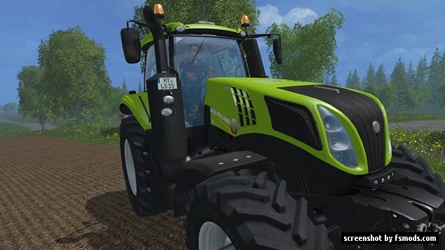 New Holland T8 435 by Giants, converted by LS15Modteam