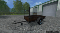 Single Axle Trailer by Modall