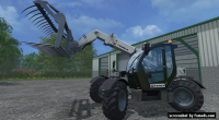 Terex Telehandler re-skin by Davide Johndeerista