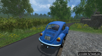 Volkswagen Beetle 1973 by Modall