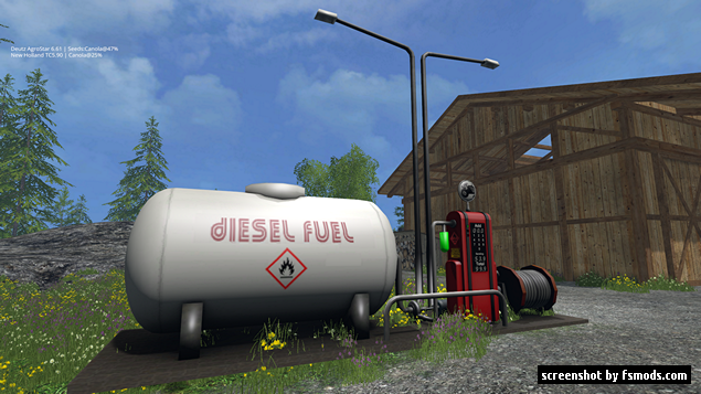 fuel station by mellie