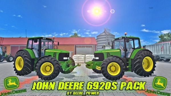 Farming simulator - john-deere-6920s mods