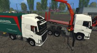 volvo-fh-750-pack for farming simulator 15